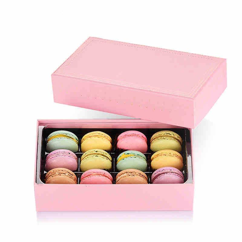 法式糕点马卡龙甜点礼盒装12枚