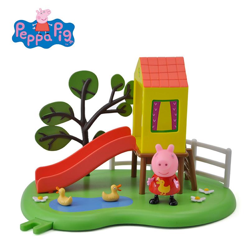 小猪佩奇Peppa Pig粉红猪小妹佩佩猪儿童礼物过家家游乐场琪