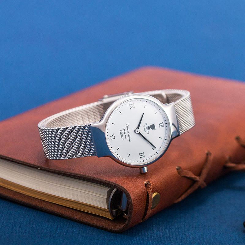 名侦探柯南手表官方正版授权基德时尚防水石英表