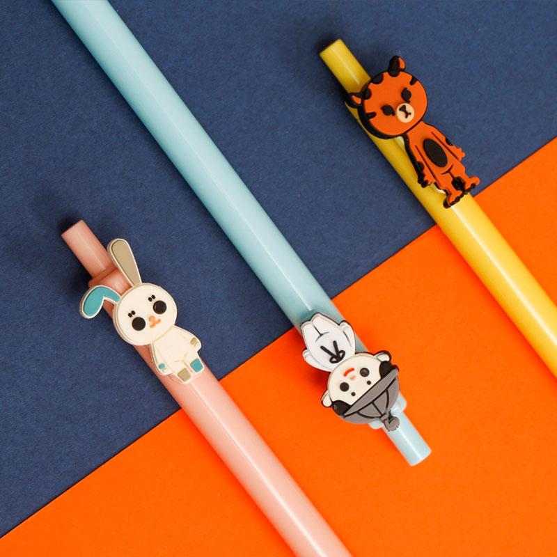 湖南省博物馆神豹句芒玉兔9件套本子笔记本学生动漫周边清新可爱